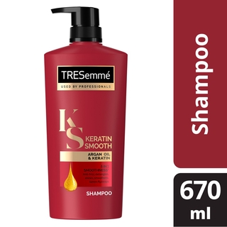 Tresemme Keratin Smooth Shampoo 670ml