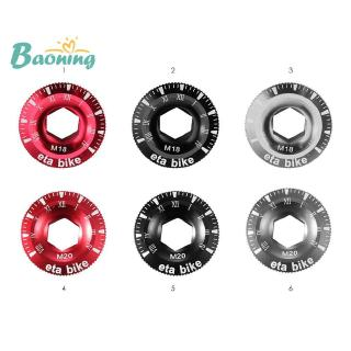 Screw Cap Aluminum Crankset Crank Cover for BMX Mountain Bike