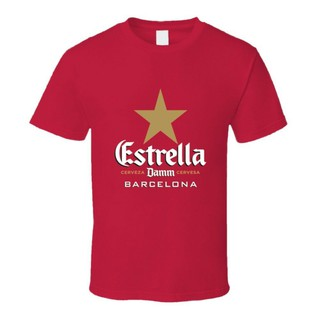 Estrella Beer Damm Barcelona Alcohol Beverage T-Sh
