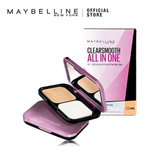 Maybelline Clear Smooth All in One UV Lightening Oil Control TWC