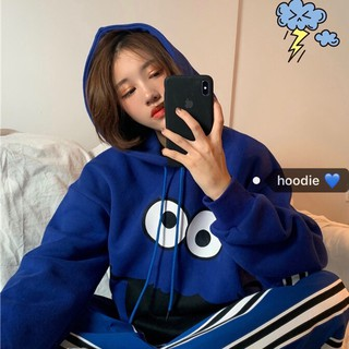 Ready Stock Korean retro sweatshirt All-match loose oversized Hoodie