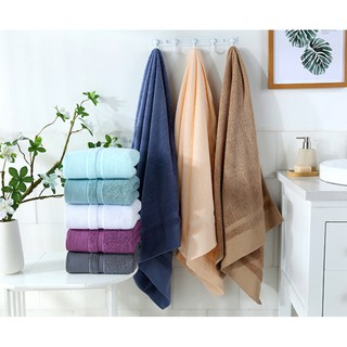 Ready Stock 450g 70*140cm Luxury Hotel & Spa Bath Towel 100% Genuine Cotton Towel Beach Towel