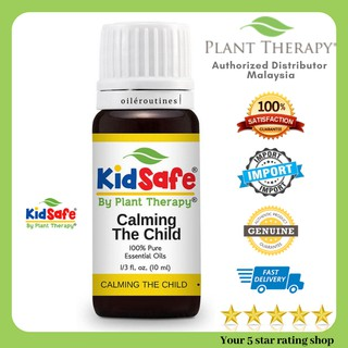 Calming the Child KidSafe Essential Oil Blend Plant Therapy Malaysia 10ml *Ready Stock*