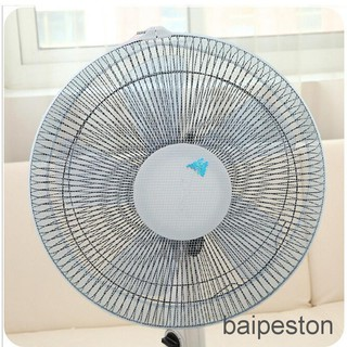 BaiPeston New Dustproof Anti Dust Fan Protection Protective Cover Child Baby Safety Nylon Rope