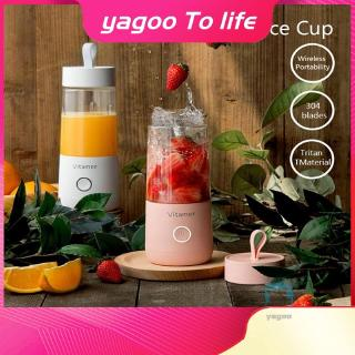 Mini Portable USB Rechargeable glass Juicer Blender Personal Fruit Blender Perfect For Fruit Milk Shake And Baby Food