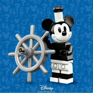 [ hlliew8 ] Lego® 71024 Minifigures Mickey Mouse Steamboat Willie