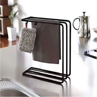 (Ready Stock Kitchen Sink Shelf Towel Paper Drain Rack Bathroom Hanging Storage