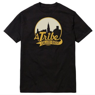 Mens T Shirts A Tribe Called Quest City Skyline Atcq Hip-Hop Rap Native Tongues