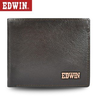 Edwin Leather Top Flip Wallet EWET30779