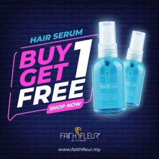 [ Hair Mist ] Hair Serum Faith Fleur Anti Frizz