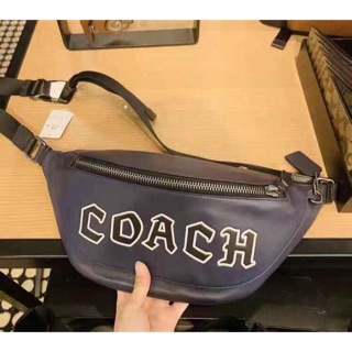 Coach Warren Belt Bag With Coach Script