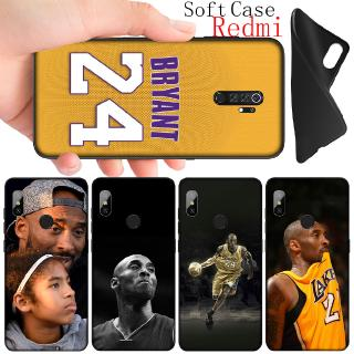 Xiaomi Redmi 6A 5A Note 6 Pro 5 Plus Soft Silicone Black Tpu Phone Case Kobe Bryant 8 24