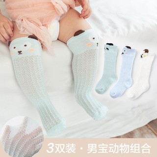 Baby anti-mosquito socks spring and autumn summer packth of small girls dance newborn high stockings over knee