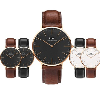 DanielWellington Men women Couple Watch DW PU Leather Watch