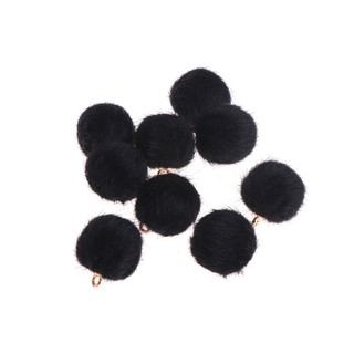 ♥10Pcs/set Ball Eardrop Pendant Charms Earrings Accessories Jewelry DIY Finding