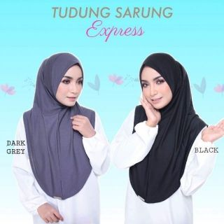 TUDUNG SARUNG EXPRESS READY STOCK
