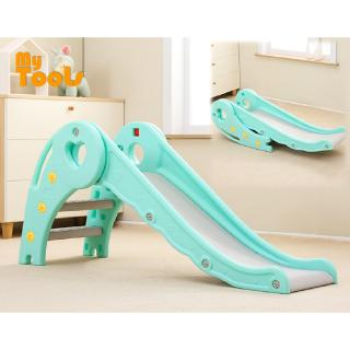 Mytools Foldable Playground Slide Extra Long Indoor Home Safety Stable DIY Children Mini Slide Kids toys