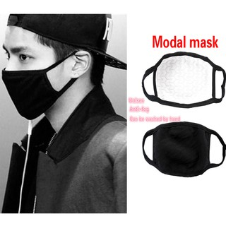 Unisex Men Women  Anti-Dust Cotton Mouth  Outdoor Anti-Dust Modal Mouth Black Warm Fashion Cycling Wearing durable