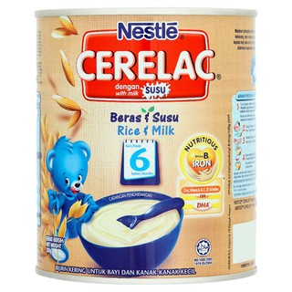 Nestlé Cerelac Rice & Milk Infant Cereal with Milk From 6 Months 350g