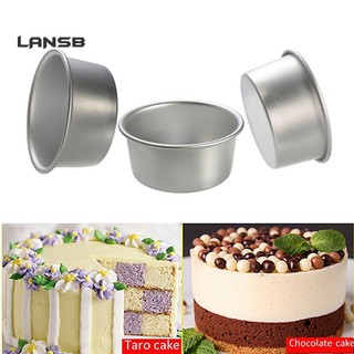 SS 2/4/6/8 Inch Aluminum Alloy Non-stick Round Cake Mould Pan  bake Tool