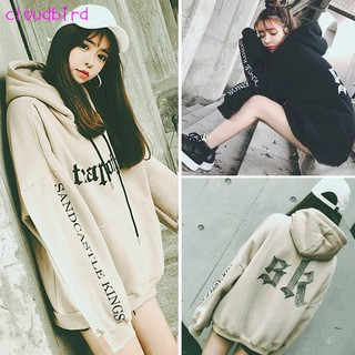 Sweet Women  Oversize Hoodie Harajuku Autumn Winter Girls Pullover Long Sleeve Tops