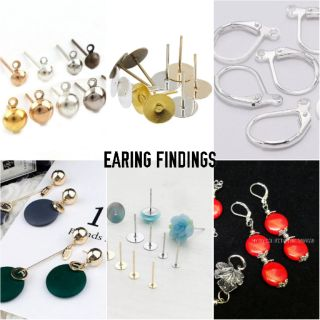 Earing Jewellery Finding Diy.🇲🇾 Ready Stock In Malaysia.