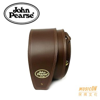 John Pearse Slc-brn Guitar Strap Saddle Leather Brown Canada Made Boutique