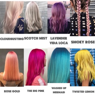 (READY STOCK) Bleach London Super Cool Colours