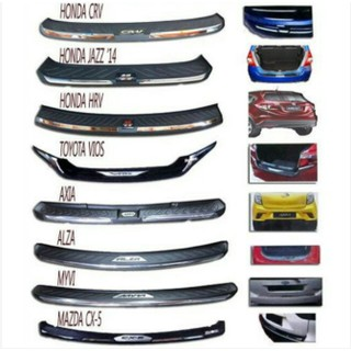 Perodua Axia G Spec Car Accessories for Bumper Guard ABS