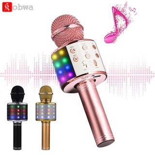 Bluetooth Wireless Microphone Home Karaoke Microphones Handheld BEAR