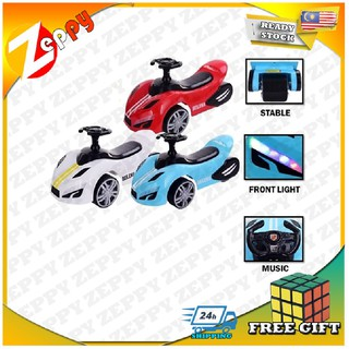 New Sporty Space Design Kids Ride On Push Yo-Yo Twist Car with Light and Music