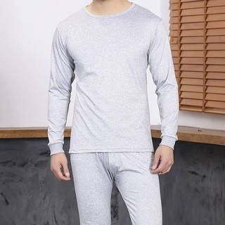 Underwear Men's Thermal Underwear Set Middle-aged Underwear Underwear Pants Season Plus Velvet Thickened Winter Clothing