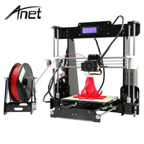 ANET A8 3D DESKTOP ACRYLIC LCD SCREEN PRINTER (BLACK)