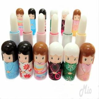 Cute Kimono Doll Lipstick Moisturizing And Cracking Does Not Lip Hurt Makeup