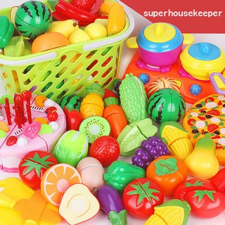 Simulation of Fruit Desperately  Fruits Toy Children Kitchen Playsets New