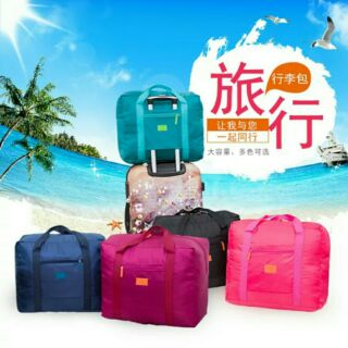 JMALL HAPPY TRAVEL Duffel Bag luggage duffel bag Luggage Outdoor Bag