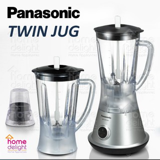 Panasonic MX-SM1031 / MX-M210 Twin Jug Blender with Dry Mill