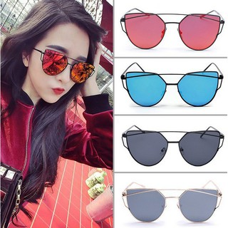 Metal Frame Colored Lens UV Protection Sunglasses DF Flip Up Sun Trendy