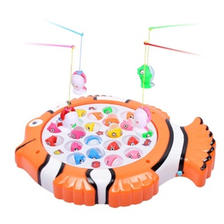 [Ready Stock M'sia]Fishing Toys Fun Educational Game Kids Play