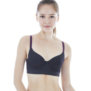 Triumph Triaction Free Motion Wired Padded Sports Bra (Black)