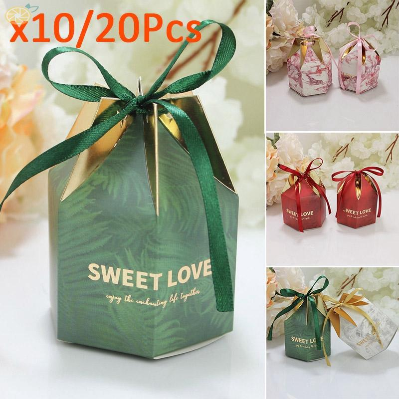 Fashion Luxury Wedding Party Sweets Cake Candy Gift Favors Party Boxes