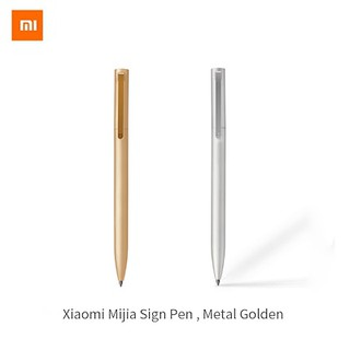 Xiaomi Mijia Sign Pen Roller 0.5mm Smooth Writing Point 9.5mm Metal Penholder