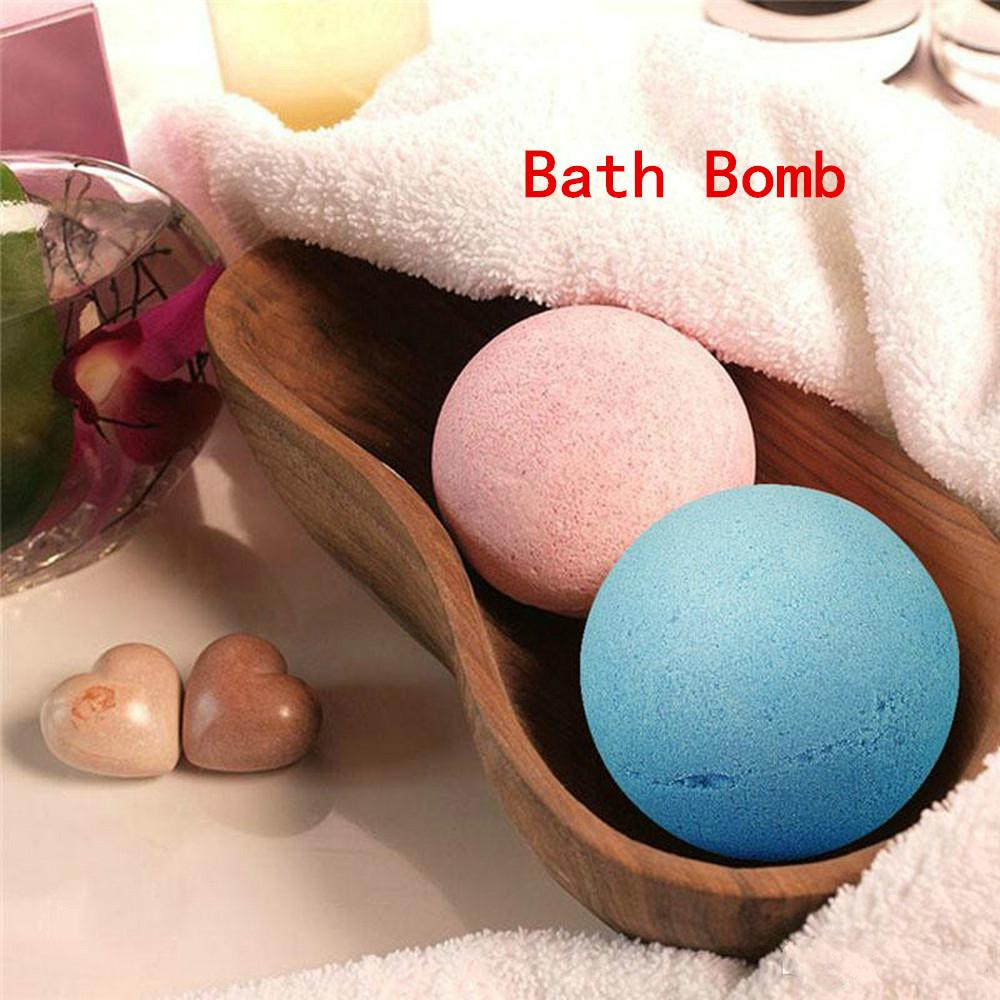 Whitening Bath Salt Bomb Ball Shower Body Scrub Moisture Essential Oil