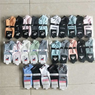 Promotional Sale Casual  Adidas Nike Sports Running Color Random Socks