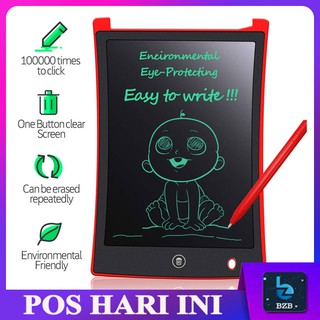 READY STOCK 💥 Portable 4.5/ 8.5/ 12 Inch Paperless Eco Friendly LCD Notepad Writing Memo Schedule Drawing Board Tablet