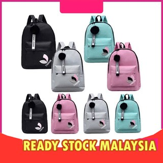 🌟 Local Seller-1 Day Delivery🌟Ready Stock ladies backpack travel school bag