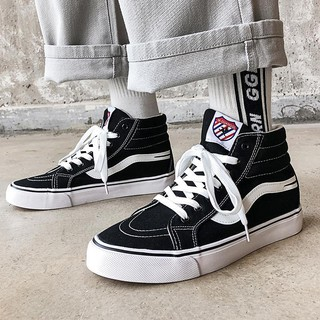The spring of 2020 new high for leisure shoes and men''s canvas joker han edition tide sneakers ins boys