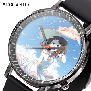 Hot Hero College Anime Casual Korean Watch Korean Men and Women Fashion Quartz W