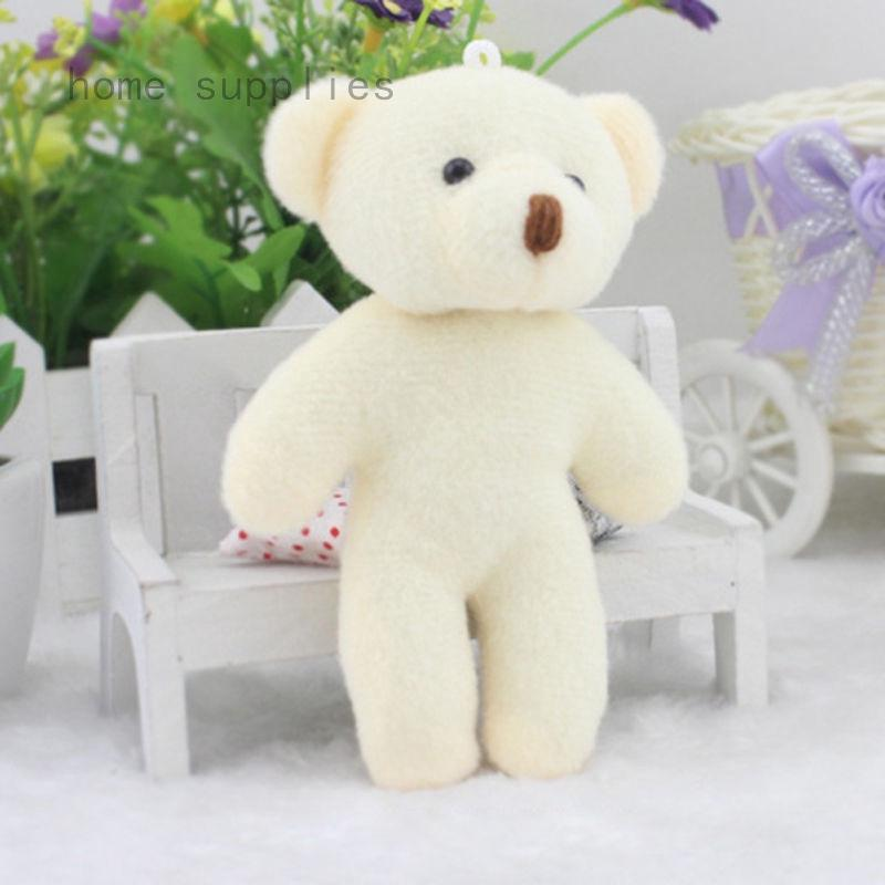 Cute Bear Baby Plush Stuffed Animal Toy Doll Kids Birthday Gift Pendant Toy