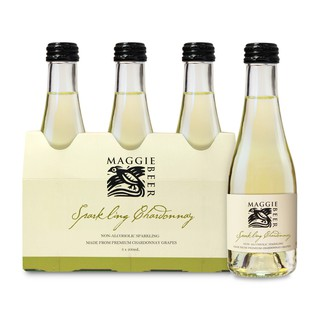 Maggie Beer Non Alcohol Sparkling Chardonnay 3 pack Piccolo 600ml